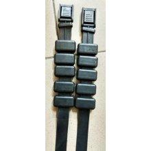 Груза ножные (1кг - ремешок + 5 обрезиненных грузиков) (пара)