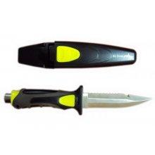 Нож BS DIVER Fox титановый в ножнах с кнопкой с ремешками