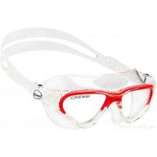 Очки  для плаванья CRESSI COBRA цвет: красный