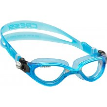 Очки  для плаванья CRESSI FLASH силикон белый, оправав голубая