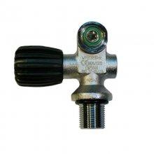 Вентиль однопортовый BS DIVER левый 232 BAR (c DIN-INT адаптором)