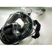 Полнолицевая BS DIVER MONKEY маска для снорклинга (с возможностью продувки)