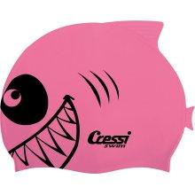 Шапочка детская для плавания Cressi Shark