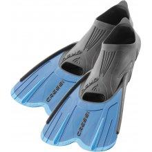 Ласты Cressi AGUA SHORT с закрытой пяткой цвет: синий